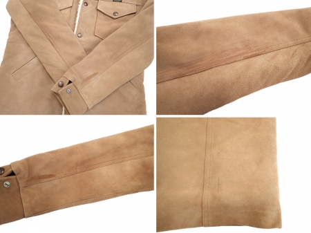 Wrangler Leather Ranch Coat