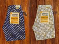 SUNLIGHT BELIEVER USA CANVAS SHORTSのイメージ