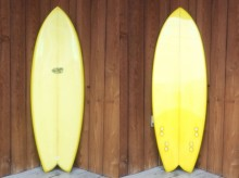 Flex Fin Quad Fish 5'7""