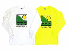【OFF SHORE】COLOR LOGO L/S TEE