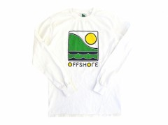 【OFF SHORE】Ladies COLOR LOGO L/S TEE