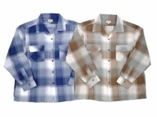【GO WEST】OUT OF BORDER SHIRTS / BIG CHECK