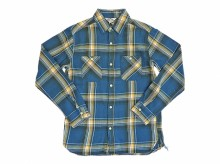 【FIVE BROTHER】LIGHT FLANNEL WORK SHIRTS