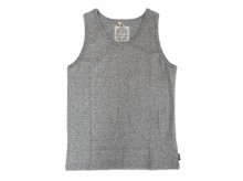 【GO HEMP】FINEDAY TANK TOP(B/HEATHER)