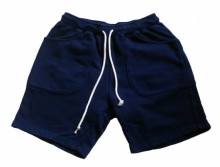 Good On Sweat Shorts (INDIGO DYE)