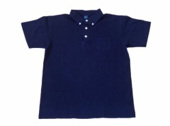 Good On S/S  Polo Tee (INDIGO DYE)