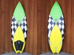 GYPSY SURFBOARDS / DOUBLE WING SWALLOW 5'8