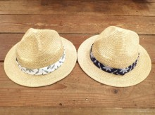 【GO HEMP】LEAF WAVE MOUNTAIN HAT