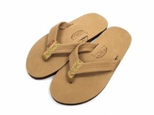"Rainbow Sandals Classic Leather""Sierra Brown"""