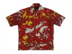 60s Zip Hawaiian Shirts