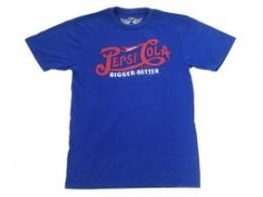 "PEPSI COLA Logo Tee""BIGGER BETTER"""