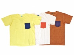 【Good On】HOLY SMOKE別注 2Tone S/S Crew Pocket Tee