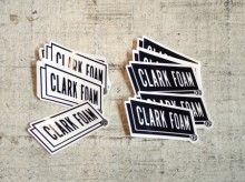 【CLARK FOAM】LOGO STICKER(Small)