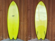 SHAPES AND HULLS/FLEX FIN TWIN FISH 5'11""