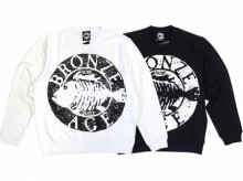 【BRONZE AGE】FRONT LOGO CREW SWEAT
