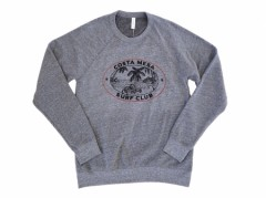 【COSTA MESA SURF CLUB】TRIBLED CREW NECK