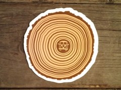 Tree Ring Sticker