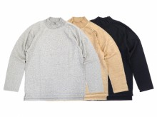 【Good On】L/S HEAVY JERSEY MOCK NECK TEE