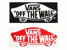 Vans Deck Logo Sticker Large