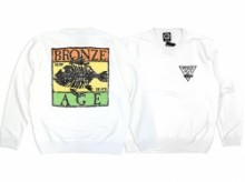 【BRONZE AGE】RASTA LOGO CREW SWEAT