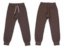 RIDING HIGH Tweed Nep Fleece Pants