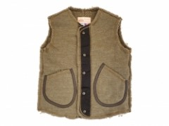 【Oregonian Outfitters】BOA LEATHER TRIM VEST