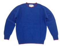 【Harley of Scotland】Crew Neck Sweater/TUDOR