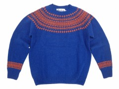 【Harley of Scotland】Crew Neck Sweater/SPICE