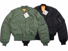 【Valley Apparel】MA-1 Flight Jacket