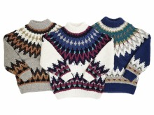 【GO WEST】ESCAPE HAND KNIT SWEATER