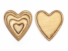 Birch Ply Heart6