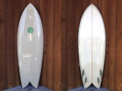 Jimmie Hines Quad Fish 5'8""
