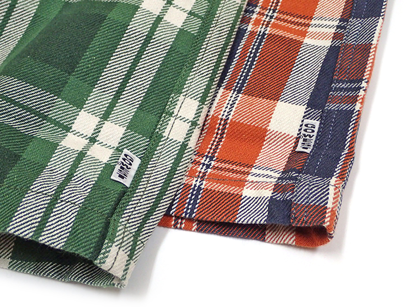 【GO WEST】HEAVY COTTON FLANNEL CLOTH
