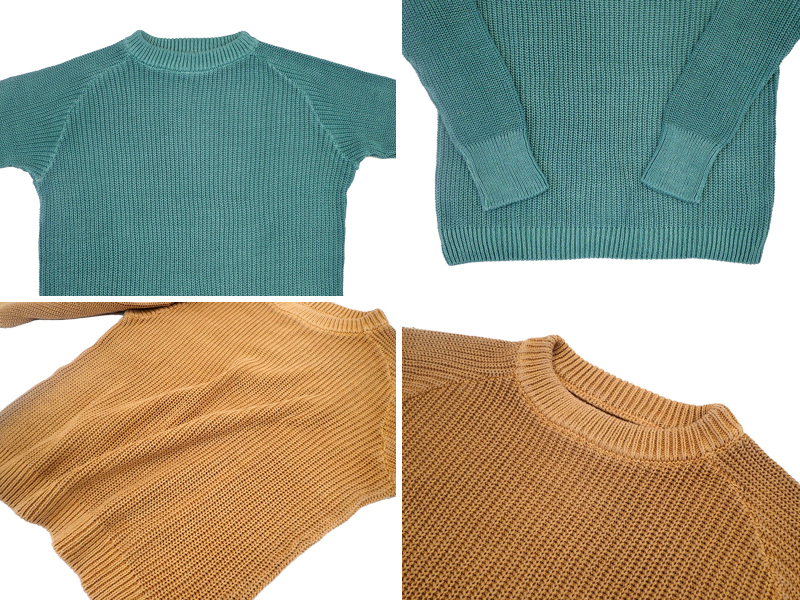 【Good On】Crew Cotton Sweater