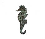 CAST IRON HOOK(SEAHORSE)