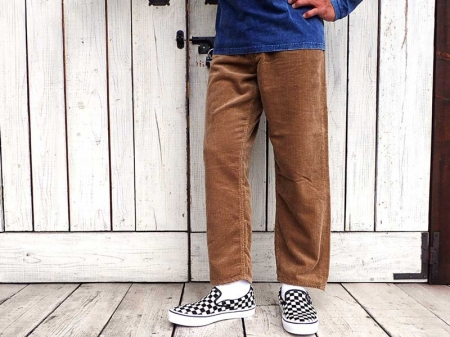 【GO WEST】LOOSE TAPERD PANTS
