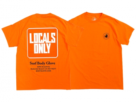 【BODY GLOVE】LOCALS ONLY S/S TEE