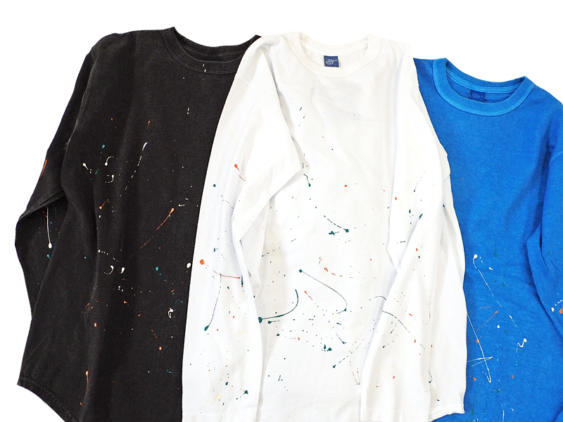 【Good On】Paint L/S Round Tee