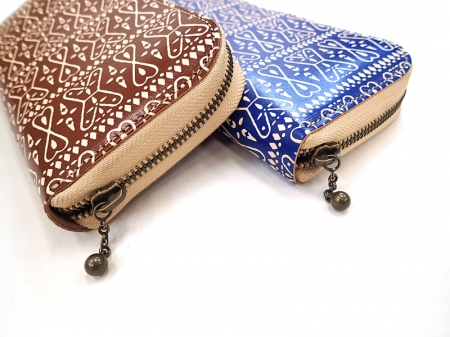 【GO WEST】LONG WALLET/PAISLEY PRINT LEATHER