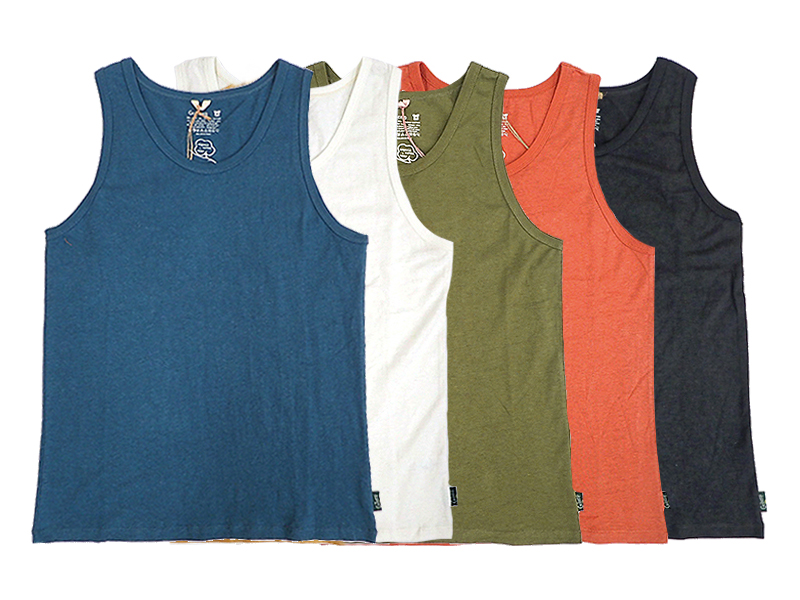 【GO HEMP】FINEDAY TANK TOP