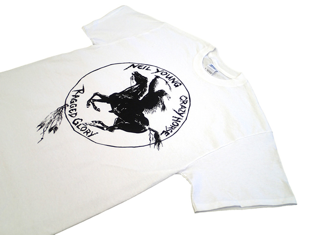 "Neil Young&Crazy Horse ""Ragged Glory"" Tee"