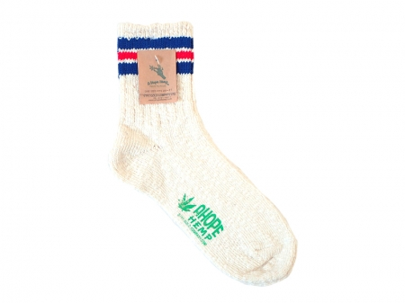 A HOPE HEMP COTTON × HEMP LINE SOCKS