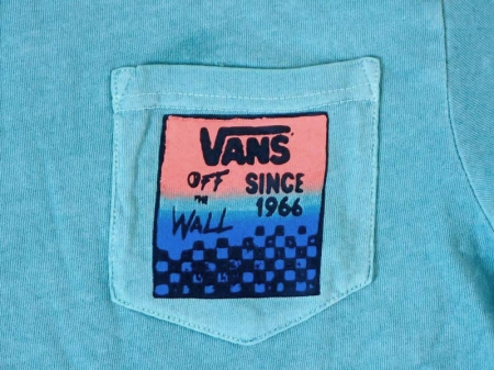 "VANS ""Checker Square"" S/S Tee"