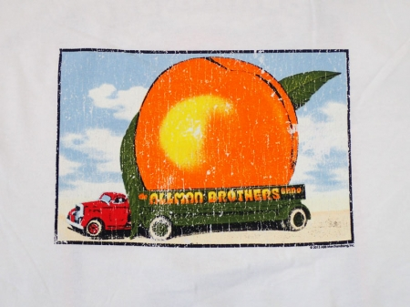The Allman Brothers Band Tee(DISTRESSED EAT PEACH)