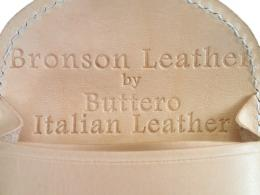 BRONSON LEATHER Leather Coin Case