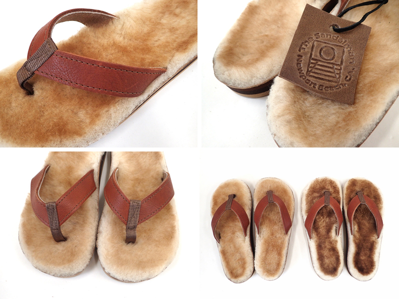 【THE SANDALMAN】SHEEPSKIN SANDAL HOLY SMOKE別注