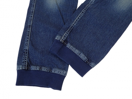 【GO HEMP】VENDOR RIB PANTS/USED WASH