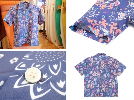 【FIVE BROTHER】PRINT S/S ONE-UP SHIRTS