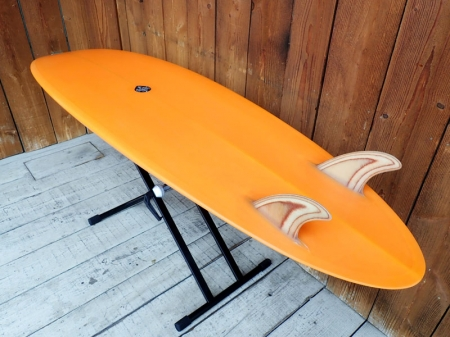 Bat Tail Egg Twin 6'4""