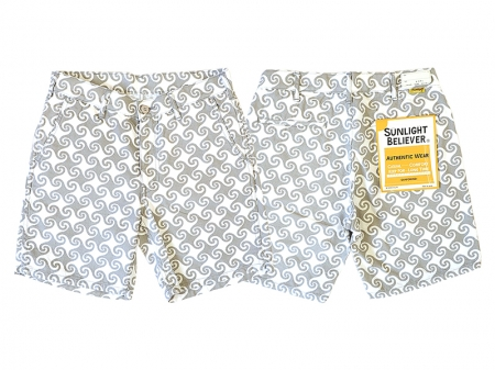 SUNLIGHT BELIEVER USA CANVAS SHORTS